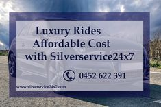 #Affordable #Luxury #rides in #Melbourne provided by silverservice24x7. Book your cabs with us by call at 0452 622 391 and online booking is at Book@silverservice24x7.com We will give confirmation of your booking within 15 mintues. For more visit at www.silverservice24x7.com