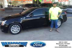 https://flic.kr/p/HuCe3j | Congratulations Sam on your #Cadillac #CTS Sedan from Justin Bowers at Waxahachie Ford! | deliverymaxx.com/DealerReviews.aspx?DealerCode=E749