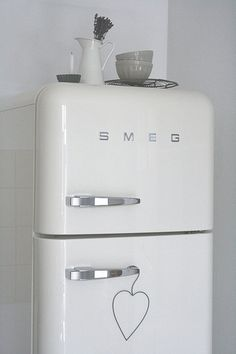 smeg fridge - love!
