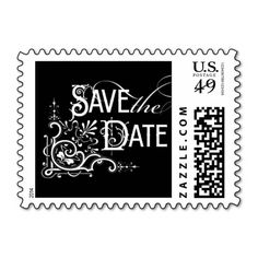 Vintage Ornate - Save the Date - Black Postage We have the best promotion for you and if you are interested in the related item or need more information reviews from the x customer who are own of them before please follow the link to see fully reviewsDiscount Deals          	Vintage O...
