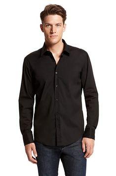 Slim Fitting Men's Dress Shirt Review | Black body, Black watches ...