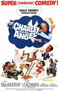 Charley and the Angel 1973 Disney Movie Poster