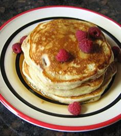 Ultimate Melt-In-Your-Mouth Pancakes | Always looking for lighter pancakes.