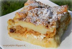 Recept Jablečno-skořicová žemlovka Apple Pie, New Recipes, Rum, Ideas, Author, Apple Cobbler, Rome, Thoughts, Room