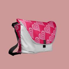 Unique design of this cute messenger bag looks great for every occasion. You will love this bag because it is light and convenient, you will be able to carry it everywhere you go and even put your laptop in it. Girls will definitely be jealous! So what are you waiting for? Meet new spring with this stylish messenger bag! www.zazzle.com/astulia