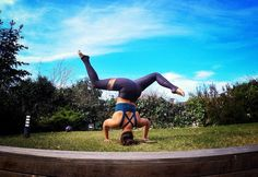 """TAG someone who challenges you all the time! """"By your stumbling the world is perfected."""" Sri Aurobindo stumble often stumble well only then you can find whatever it is you are looking for #thatyogamove"""