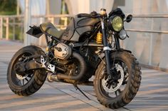 Custom BMW R1200S by Cafe Racer Dreams