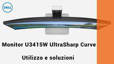 #DellAIuta: Informazioni sull'utilizzo e sulla risoluzione dei problemi del monitor Dell U3415W UltraSharp 34 curve :