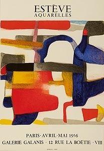 Affiche - Maurice Esteve - La Cigale