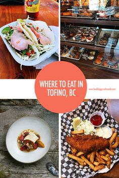 Heading to the wild west coast? Then Tofino on Vancouver Island is a must stop - especially if food is high on your list of vacation priorities! We tell you some of the best places to eat in Tofino Canadian Cuisine, Canadian Food, Tofino Bc, Maple Bacon, Food Travel, Best Places To Eat, Vancouver Island, Canada Travel, Wild West