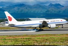 Air China Cargo Boeing 777-FFT at ANC ~ photo by Jeffrey Adamson
