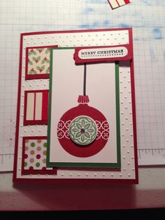 Cute and simple Christmas card.