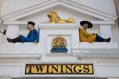 Old Twinings Tea Shop and Museum on the Strand in London, City of Westminster , England.