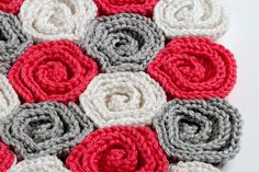 Roses Baby Blanket by crocheterie, via Flickr
