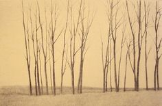 poboh:    One Morning in Winter, 戸村 茂樹 /Shigeki Tomura. Japanese Print maker. born in 1951.