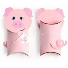 Silhouette Design Store - View Design #74582: pig pillow box valentine
