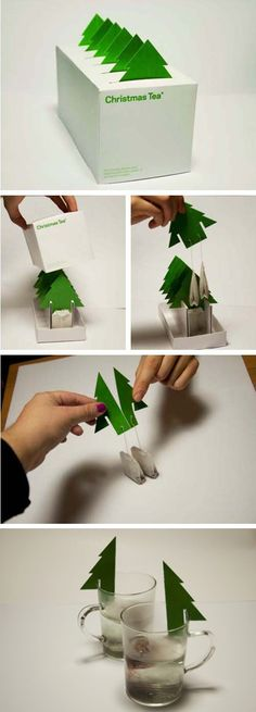 Christmas Tea (Creative Design Packaging)