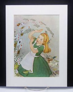 Alice in Wonderland Wall Art Shuffling Army of by CloudNinePrints, $12.00