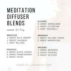 Essential Oil Diffuser Blends for Meditation Grounding Essential Oil, Essential Oil Spray, Essential Oils Guide, Essential Oil Diffuser Blends, Doterra Essential Oils, Doterra Oil, Energy Oils, Calming Oils, Aromatherapy Oils