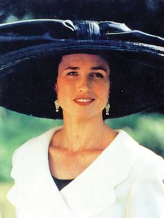 When award winning costume designer Lindy Hemming was looking for hats for the movie Four Weddings and a Funeral her first thoughts were to trawl the London West End stores and checkout their hat departments. Her team visited Harrods, Selfridges, John Lewis and Fenwick and discovered that in each store the hats that they were most attracted to all bore the Herald & Heart label. So there seemed only one thing to do