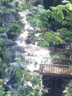 Suches Georgia waterfall