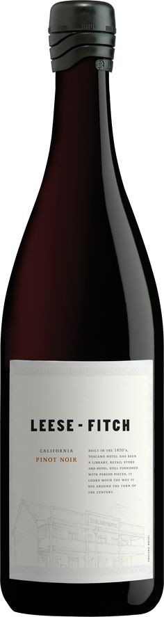 """""""Leese-Fitch"""" Pinot Noir 2013 - Leese-Fitch Wines, California---- -----Terroir: California"""