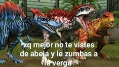 Read ❤ veintitres ❤ from the story *ೃmemes de dinosaurios (resubido) by GAYEOJIN (stream promise) with reads. Stupid Images, Bts Memes, Funny Memes, Im Stupid, Kimi No Na Wa, Comic Drawing, Prehistoric Creatures, Spanish Memes, Jurassic World