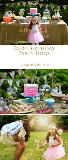 Enchanted Fairy Garden Birthday Party | Pinterest | Garden birthday ...