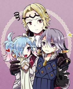 Peri, Xander, and Lazwald