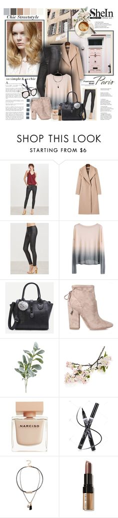 """""""SheIn"""" by sneky ❤ liked on Polyvore featuring Angelo, Kendall + Kylie, Pier 1 Imports, Crate and Barrel, Narciso Rodriguez and Bobbi Brown Cosmetics"""