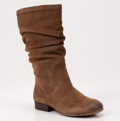 slouchy Kenneth Cole boots.