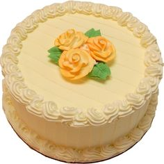 Lemon Designer fake cake - 9 inch - CAKES - Decorcentral.com -... (375 MXN) ❤ liked on Polyvore featuring home, kitchen & dining and serveware