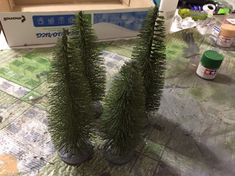 How to make forest terrain
