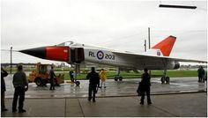 The AVRO ARROW replica, September 26th, 2006.