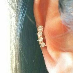 Body Jewelry Cz Crown Ear Jacket Bar Ear Climber Cartilage Stud Silver Line Earring Bar Helix Helix Earrings, Bar Earrings, Cartilage Earrings, Stud Earring, Labret, Piercing Cartilage, Body Piercing, Piercings, Ear Jacket