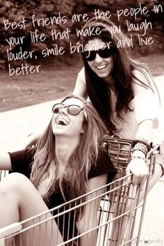 Best friends are people in your life that make you laugh the most #friendship #friends #bestfriends