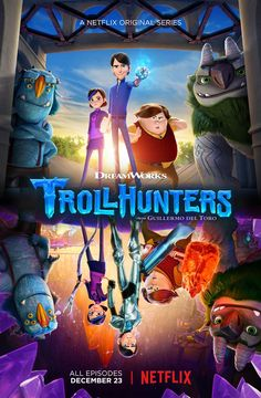 Trollhunters - Season 1. I absolutely love this show, definitely worth a watch if you haven't seen it yet! Stays true to the always impressive Dreamworks studio rep!