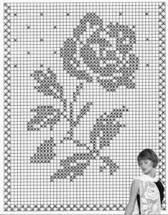 Kira scheme crochet: Scheme crochet no. 969