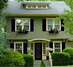 Jp Potential Color Schemes Colonial Exterior Trim House Paint