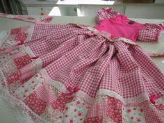 Minha Primeira Costura: Vestido de festa Junina...