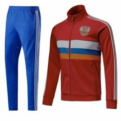 2018 Jacket Uniform Russia Red Replica Football Suit [BFC638]