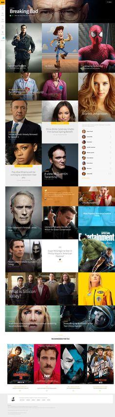 redesign d'imdb