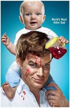 Dexter Most Killer Dad Michael C Hall TV Show Poster 11x17