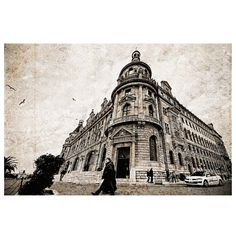 Architecture Haydarpasa Terminal Urban photography by gonulk, $30.00
