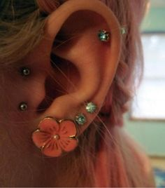 ear peircings #classynottacky #notforme #lookscool