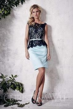 Christina Wu Occasions Formal Bridesmaid Dress-Peplum Formal Bridesmaids  Dresses 2e1184605fc4