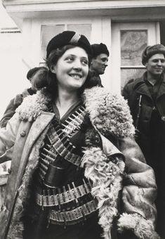 "historicaltimes: "" Partisan Girl , 1942 """