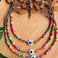 Bohemian Bracelets, Hippie Jewelry, Cute Jewelry, Bead Jewellery, Beaded Jewelry, Jewelery, Beaded Bracelets, Pulseras Kandi, Crochet Bracelet