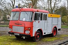 Old Fire Engine Berkshire UK