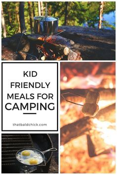 When you're camping with kids - meals around the camp fire can be so much fun. Serve food they actually want to eat! via /thatbaldchick/ Camping Meals For Kids, Family Camping, Tent Camping, Camping Hacks, Kids Meals, Camping Ideas, Camping Menu, Camping Cabins, Camping Kitchen